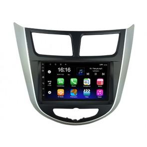 """Autoradio universal ANDROID 10 Pantalla 7"""" + consola adaptadora para HYUNDAI ACCENT 2011-2017, Procesador 4 Nucleos (16+2) con WIFI-GPS-BT-USB + Camara Retro (EN STOCK)"""