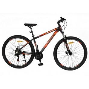 "Bicicleta Montañera KOMBAT BIKE modelo IAITO aro 27.5"" talla S (Plomo con naranja)"