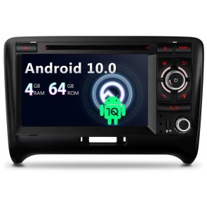 Autoradio Homologado para AUDI TT 2006-13 Procesador 8 Nucleos (64+4) Android 10 - Pantalla 7