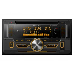 Equipo multimedia 2DIN marca KENWOOD modelo DPX-522WBT