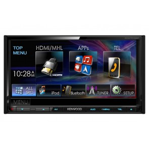 Equipo multimedia 2DIN marca KENWOOD modelo DDX-7015BT