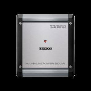 Amplificador de 4 canales marca KENWOOD modelo KAC-D3104