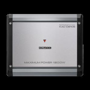 Amplificador de 5 canales marca KENWOOD modelo KAC-D8105