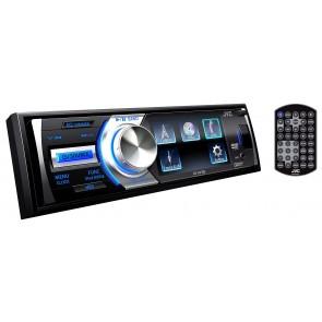 Equipo de 1DIN con pantalla LCD 3 pulgadas con lector DVD marca JVC MOBILE modelo KD-AV300
