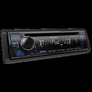 Autoradio Kenwood KDC-MP378BT Bluetooth - USB y Aux 1 Din