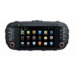 "Autoradio homologado KIA SOUL 2014-2015 Procesador de 8 nucleos con sistema operativo Android 6.0.1 - Pantalla 8"" + Camara Retro, DVD-TV-GPS-BT-USB-SD-WIFI (Importación 10D)"