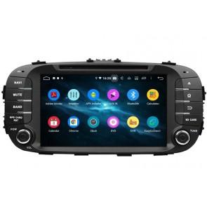 Autoradio Homologado KIA SOUL 2014-2018 Procesador 8 Nucleos (64+4) Android 9 - Pantalla 8