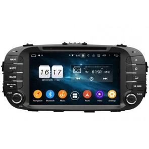 """Autoradio Homologado KIA SOUL 2014-2018 Procesador 8 Nucleos (64+4) Android 9 - Pantalla 8"""" Tecnologia Ips con DVD-WIFI-GPS-BT-Procesador Audio DSP +Cam +TV Full HD (Importación 10D)"""