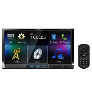 Equipo multimedia marca JVC MOBILE modelo KW-V41BT