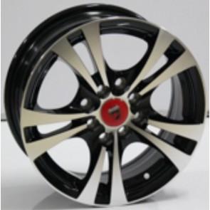 "Juego de aros marca VARELOX WHEELS  modelo L324  mf/ml-b - 14""  8H - AUTOS"