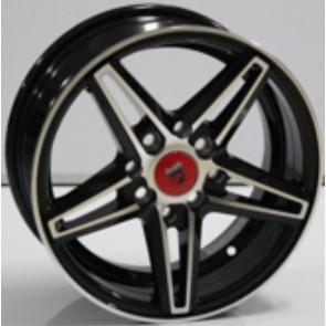 "Juego de aros marca VARELOX WHEELS  modelo L568  mf/ml-b - 14""  8H - AUTOS"