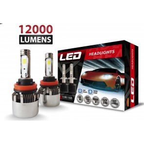 Luces Led C8+2 marca OZ TUNING codigos H1 - H7 - H11 -  880 - 9005  (12000Lm)