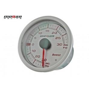 Reloj Medidor de Presion de Turbo marca MEGAN-RACING