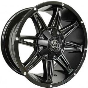 "Juego de aros marca MAYHEM Wheels  modelo MM-8090-2937 MB - 20""x9.0"" - 12H - CAMIONETA"