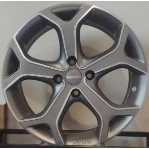 Juego de aros marca MOMO  modelo DARK BLADE  gris mate - 17