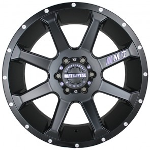 Juego de aros marca MICKEY THOMPSON  modelo MM-366  Matte Black - 18