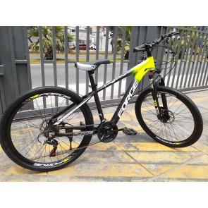 Bicicleta FORGE modelo Alloy Hydraulic MTB aro 26