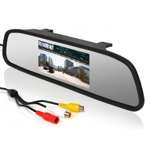 "Espejo montable marca OZ- TUNING de 4.3"" modelo OZ-1202"