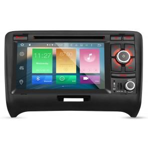 "Autoradio homologado para AUDI TT 2006-13 pantalla Tactil 7"" DVD,GPS,TV,Wifi,USB, SD+CamRetro (Importacion 7D) 8Nucleos ANDROID 6.0.1"