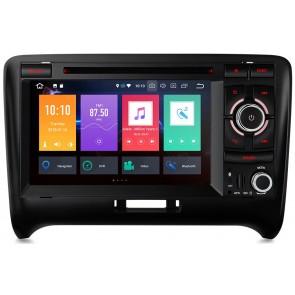 "Autoradio homologado para AUDI TT 2006-13 pantalla Tactil 7"" DVD,GPS,TV,Wifi,USB, SD+CamRetro (Importacion 7D) 8Nucleos ANDROID 8.0"