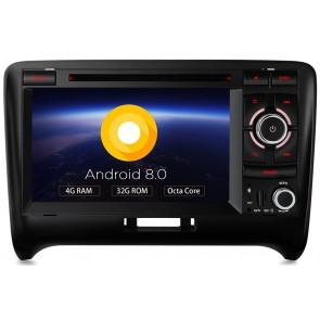Autoradio homologado para AUDI TT 2006-13 pantalla Tactil 7