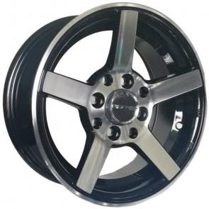 """Juego de aros marca PDW Wheels  modelo PDW-3512345  mb - 13""""x6.0"""" - 8H - Auto"""