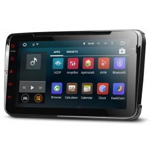 """Autoradio ultima generación SEAT LEON 2005-12  8"""" Plana Sistema Android 5.1 + Cámara Retro, GPS, Wifi, TV (IMPORTACIÓN 7D) 4 Nucleos"""