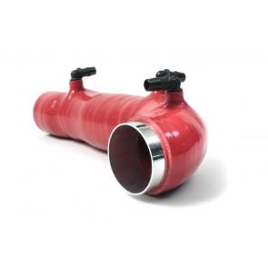 Manguera de admision de turbo roja subaru WRX 08-2013 marca Perrin