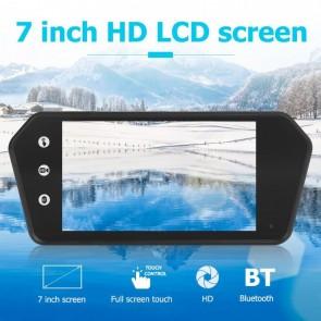 Espejo montable con pantalla tactil marca OZ TUNING de 7