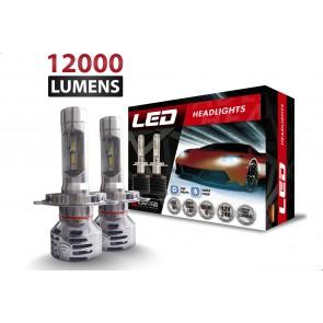 Luces LED R1 marca OZ TUNING codigos H7 - H11- 880 - 9005 - 9006 (12000Lm)