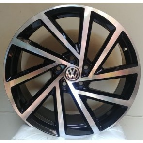 """Juego de aros HP Wheels  modelo NEW GTI  681  bp - Réplica - 18""""x8.0"""" - 5x112 - PCR/SUV"""