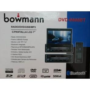 Autoradio Bowmann Dvd Con Pantalla 7