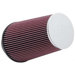 Filtro Aire Universal Cónico Cromado  3 1/2 - 6 x 4 1/2 - 9 marca K&N