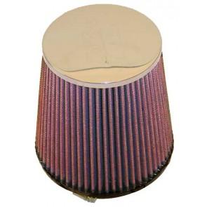 Filtro Aire Universal Cónico Cromado  4 - 5 3/8 x 4 1/2 - 6 marca K&N