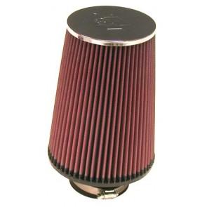 Filtro Aire Universal Cónico Cromado  3 -  6  x  4 1/2  - 8 marca K&N
