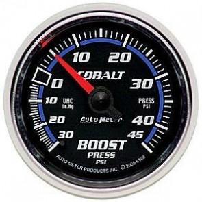 Reloj de presion de turbo stri smoke electrico rojo ambar