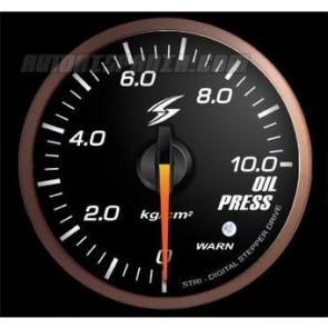 Reloj de presion de aceite stri  smoke electrico rojo ambar