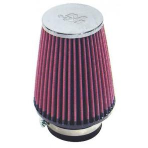 Filtro Aire Universal Cónico Cromado  3 - 5 x 3.5 - 6 marca K&N