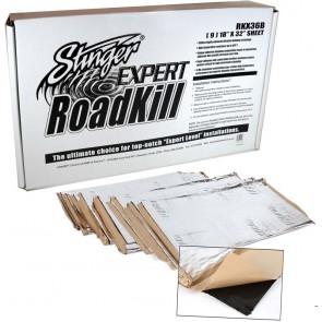 Caja grande de material acústico STINGER Roadkill (9 planchas de 45 x 80cm)