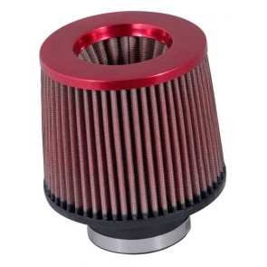 Filtro Aire Universal Inverted  3 - 6 x 5 1/4 - 5 Rojo marca K&N