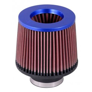 Filtro Aire Universal Inverted  3 - 6 x 5 1/4 - 5 Azul marca K&N