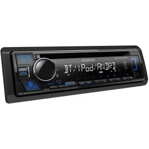 Equipo marca KENWOOD modelo KDC-MP375BT