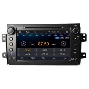 "Autoradio homologado SUZUKI SX4 2007-2013 Procesador de 8 nucleos con sistema operativo Android 6.0.1 - Pantalla 7"" + Camara Retro, DVD-TV-GPS-BT-USB-SD-WIFI (Importación 10D)"