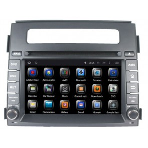 "Autoradio homologado KIA SOUL 2012-2013 Procesador de 8 nucleos con sistema operativo Android 6.0.1- Pantalla 8"" + Camara Retro, DVD-TV-GPS-BT-USB-SD-WIFI (Importación 10D)"