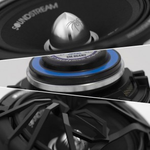 "Medio Rango de 6"" marca SOUNDSTREAM modelo SM.654N2 ( 250 RMS - Precio Unitario )"