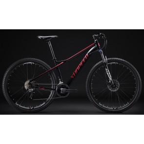 "Bicicleta Montañera SUNPEED modelo ONE aro 29"" talla M (Negro con Rojo)"