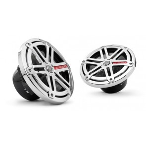 "SIST. DE COMP DE 7.7"", REJILLAS SPORT CROMADO (MADE IN USA) Línea MARINA  marca JL AUDIO  modelo MX770-CCX-SG-CR"