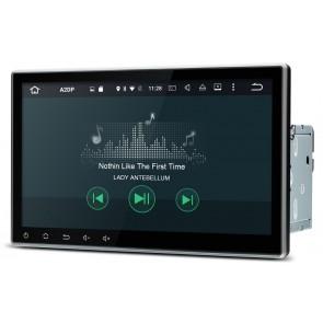 """Autoradio de ultima generación 2DIN UNIVERSAL con SIN DVD Pantalla 10.1"""" Procesador 4 Nucleos + Camara Retro, GPS, BT, Internet Wifi, TV Digital (IMPORTACIÓN 7D) Android 6.0"""
