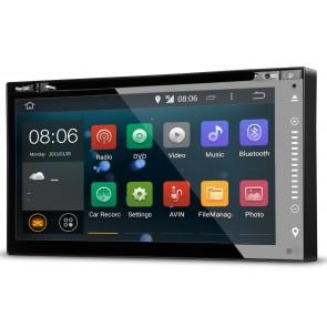 Autoradio Android de ultima generación UNIVERSAL 2DIN con DVD Pantalla plana 6.95