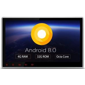 Autoradio de ultima generacion 2DIN Universal con DVD Marca XTRONS, pantalla tactil de 10